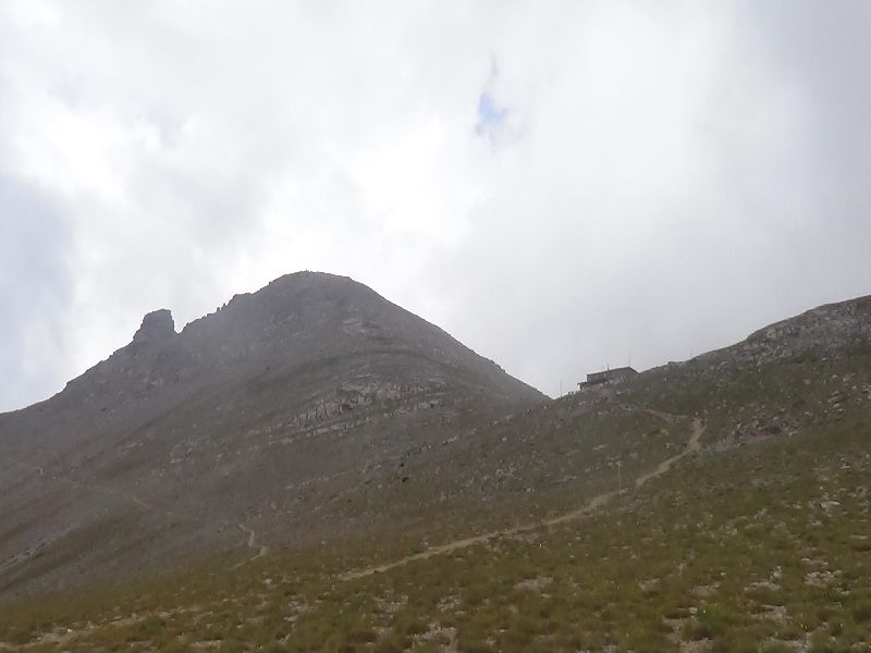 Sp. Agapitos refuge – Toumba Summit (Plateau of Muses) at an altitude of 2.801 m.